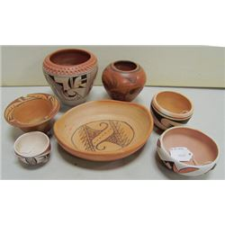 Box Lot of Hopi Pottery