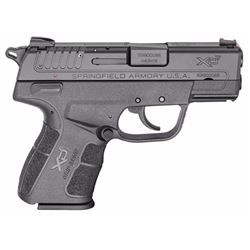 "Springfield Armory XDE9339BE XD-E Single/Double 9mm Luger 3"" 8+1 FOF Black Polymer Grip/Frame Black"