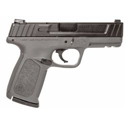 "Smith & Wesson 11995 SD Double 9mm Luger 4"" 16+1 Black/Gray Polymer Grip Black Armornite Stainless S"
