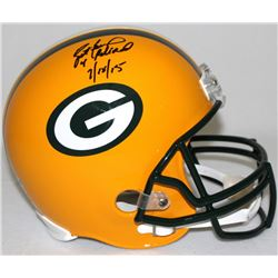 "Brett Favre Signed LE Packers Full-Size Helmet Inscribed ""4 Retired 7/18/15"" #15/44 (Favre Hologram"