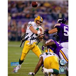 Brett Favre Signed Packers 8x10 Photo (Radtke COA)
