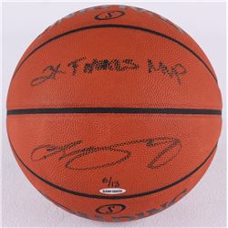 "LeBron James Signed LE Official NBA Game Ball Inscribed ""2x Finals MVP"" (UDA COA)"