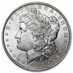 1883-O Morgan Silver Dollar BU MS-63