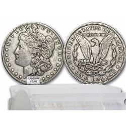 1878-1904 Morgan Silver Dollars VG-VF (20-Count Roll) $27.50 per coin