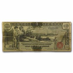 1896 $1.00 Silver Certificate Educational Note