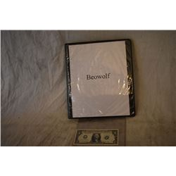 BEOWOLF PRODUCTION DESIGN AND BTS PHOTO BOOK LOTS OF POLAROIDS IN THIS ONE