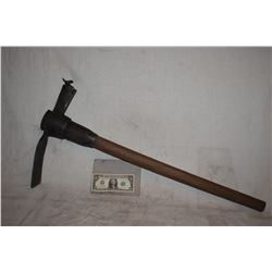 MINERS PICK AXE IMPALEMENT RIG WITH MOUNT
