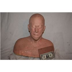 SIX FEET UNDER UNPAINTED SILICONE BUST