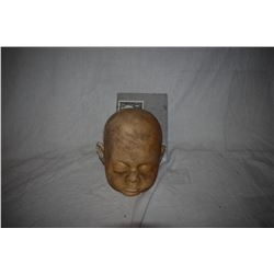 ZZ-CLEARANCE DEAD OR SLEEPING DIRTY BABY SILICONE HEAD