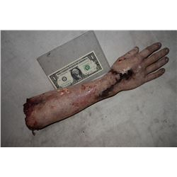 ZOMBIE CHEWED SEVERED ARM WITH HAND 2