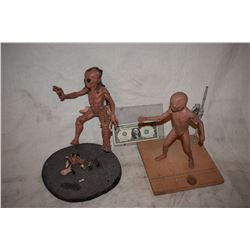 LAST MIMZY THE ALIEN MAQUETTE LOT OF 2