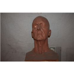 OLD MAN MAKE UP ORIGINAL STUDIO MAQUETTE SCULPTURE