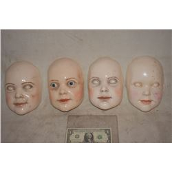 A NIGHTMARE ON ELM STREET 5 GRETA DEATH DOLL MAKE UP TEST LOT OF 4 DIFFERENT