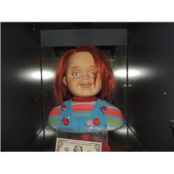 CURSE OF CHUCKY SCREEN USED HERO GOOD GUY HEAD FROM ANIMATRONIC PUPPET