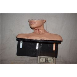 SIX FEET UNDER TRACHEOTOMY SILICONE THROAT RIG