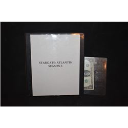 STARGATE ATLANTIS SEASON 1 BTS ALIEN PRODUCTION BOOK