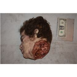 SEVERED SILICONE HEAD WITH THE BEST GORE I HAVE EVER SEEN