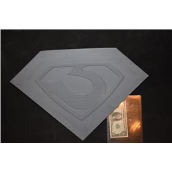 SUPERMAN OF METAL ALLOY ZOD GLYPH MASTER THAT HERO MOLDS WERE MADE FROM