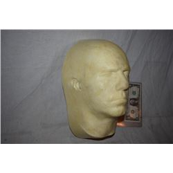 ZZ-CLEARANCE DISPLAY HALF HEAD FOR MASKS HATS WIGS SCULPTING ETC 5