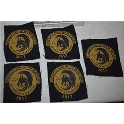 GODZILLA LOT OF 5 PATCHES