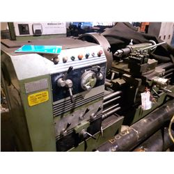 Drummond Lathe 24'' x 120'', Broche 4''1/8 Fast Feed Quick Change