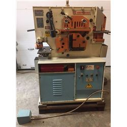 Sunrise Ironworker 45t with Punch & Die