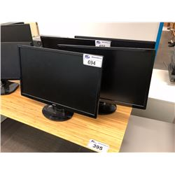 PAIR OF ACER S241HL 24 INCH LCD MONITORS