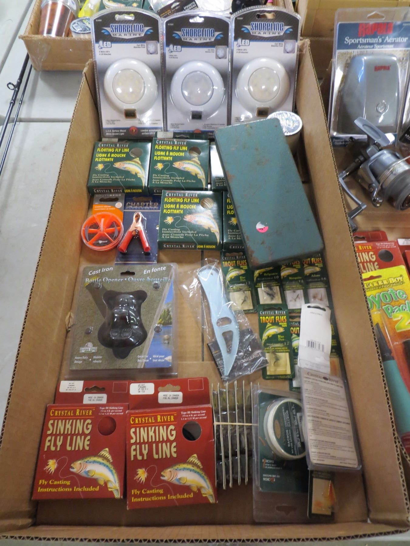Lot of new store overstock fishing gear for New fishing gear