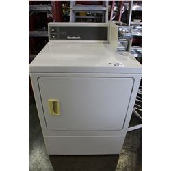 HUEBSCH COIN OPERATED DRYER
