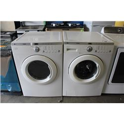 LG TROMM FRONT LOAD WASHER AND DRYER SET