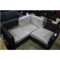 SMALL THREE PIECE PATIO SECTIONAL