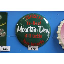 MOUNTAIN DEW METAL BUBBLE REPRODUCTION