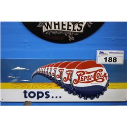 TIN PEPSI SIGN REPRODUCTION