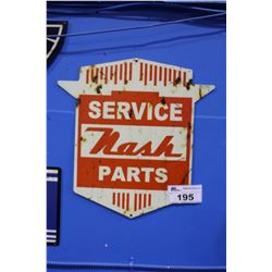 NASH SERVICE PARTS SIGN REPRODUCTION
