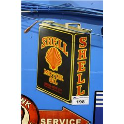 SHELL MOTOR OIL TIN SIGN REPRODUCTION