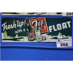 7 UP TIN SIGN REPRODUCTION