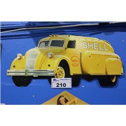 SHELL TIN SIGN REPRODUCTION