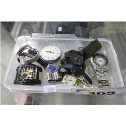 SMALL LOT OF WATCHES