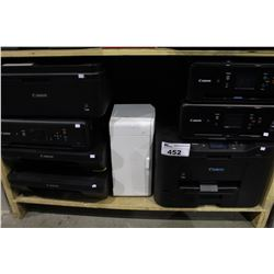 SHELF LOT OF 8 PRINTERS