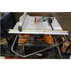 RIDGID JOB SITE TABLE SAW