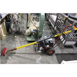 HONDA 5.5 HORSE POWER PRESSURE WASHER WITH BRUSH ATTACHMENT