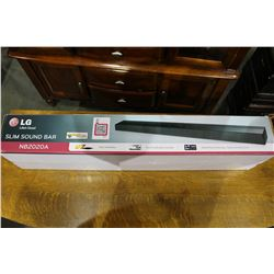 LG SLIM SOUND BAR