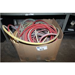 BOX OF AIRLINE HOSES