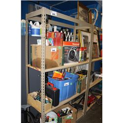 SINGLE SHELVING UNIT (CONTENTS NOT INCLUDED)