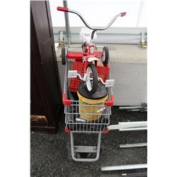SHOPPING CART AND CONTENTS