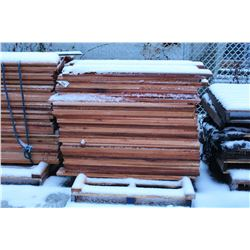 PALLET OF FENCING/ SHELVING MATERIAL