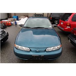 2003 OLDSMOBILE ALERO 2 DOOR COUPE, BLUE, GAS, 156,000 KMS, VIN # 1G3NL12E93C278393,