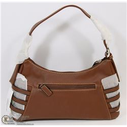 NEW MATTE BROWN PURSE WITH