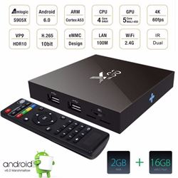 NEW X 96 SMART TV BOX 4K