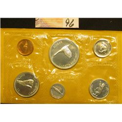 "1867-1967 Canada ""Confederation"" Uncirculated Coin Mint Set in original cellophane and envelope as i"